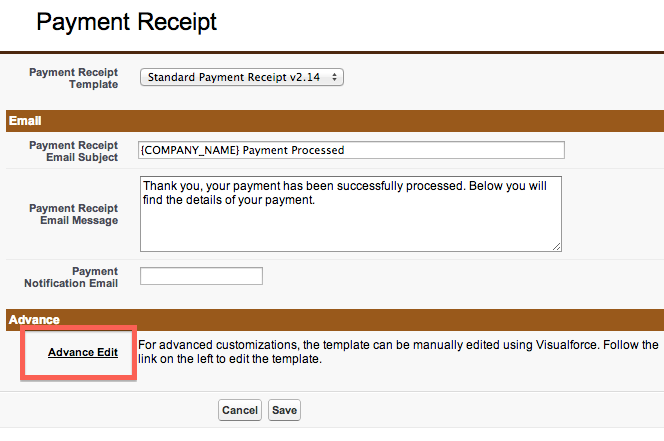 How to add invoice details on payment receipts – Payment Receipts