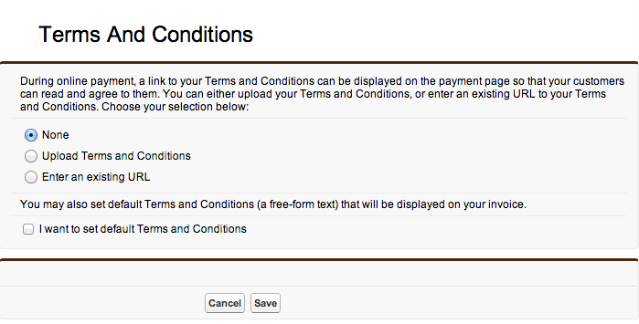 How To Add Terms And Conditions